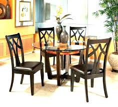 chrome dining table set small dining table and 4 chairs 4 chairs dining table dark wood