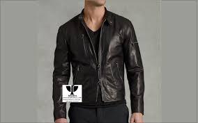 winter jacket in bd men s genuine leather short