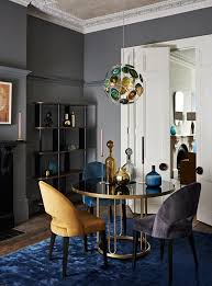 dining in style art deco living room
