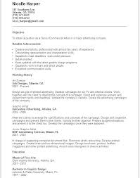 Example Of Artist Resume Art Director Resume Art Resume Template ...
