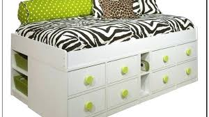 Twin Xl Bed Frame With Drawers Twin Bed Frame With Drawers Twin Bed ...