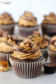 Chocolate Peanut Butter Cupcakes Celebrating Sweets