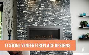stone veneer fireplace designs header