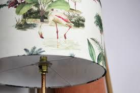 Flamingo Garden Lampshade Mustard Homestyle