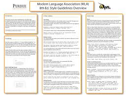 Purdue Owl Mla Formatting And Style Guide Research Paper Example