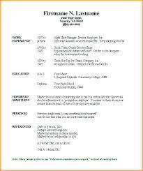 Chronological Resume Template Amazing Sample Free Chronological Resume Template Microsoft Word