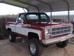 1978 GMC Sierra Grande K15 4X4 Short bed pickup Same as K10 K-10 ...