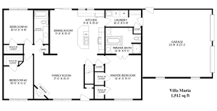 ranch house floor plans. Simple Open Ranch Floor Plans | Style Villa Maria House W