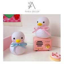 CỰC XINH] Đèn phòng ngủ vịt conFREESHIPtrang trí phòng ngủ, bàn học phong  cách Hàn Quốc - Đèn ngủ Hãng No brand