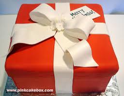 Christmas Day Present Cake