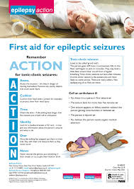 What To Do When Someone Has A Seizure Epilepsy Action
