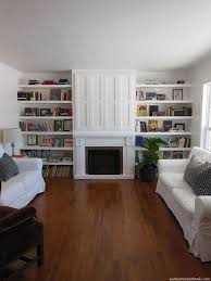 how to build a fireplace surround and hide your tv by shannon from our home notebook