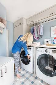 Simple Laundry Room Makeovers Our Laundry Room Makeover With Persil Emily Henderson
