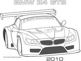 2010 Bmw Z4 Gt3 Kleurplaat Gratis Kleurplaten Printen Raceauto