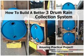 rain collection system instructables com