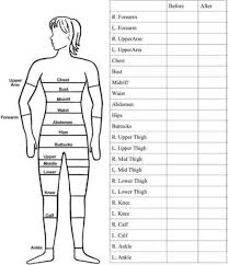 2 Free Printable Body Measurement Chart Weight Measurement