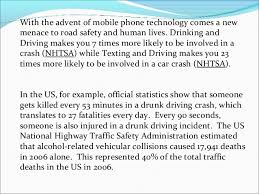 Persuasive Essay On Drunk Driving Write My Persuasive Essays On Texting And Driving