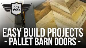 brian built barn doors. Easy Build Projects - Pallet Wood Barn Doors Chevron Or Herringbone Brian Built