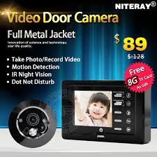 front door camera monitorHot Sales Motion Detect Front Door Camera Video Peephole Door