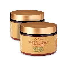 Shea Moisture Manuka Honey Mafura Oil Intensive Hydration Masque Mask 12 Oz 2 Pack