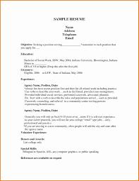 Simple Resume Examples For Jobs Job Resume Sample Fresh Golf Sales Representative Sample Resume 31