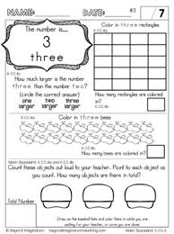 7. kindergarten math worksheets count to tell the number of objects ...
