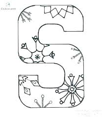 Free Printable Alphabet Letters Coloring Pages Morganglass Co