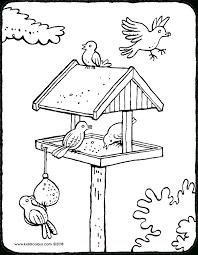 Leuk Voor Kids Zingend Vogeltje Beste Kleurplaten Van Vogels20 80