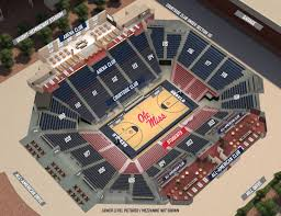 Seating Chart The Pavilion At Ole Miss Basketball