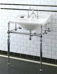 console sink with metal leg attractive design bathroom sink metal legs empire washstand traditional with console