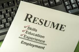 Be Prepared With A Great Resume