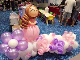 Princess Balloon Decoration Little Red Balloon Princess Party Decorations In Singapore