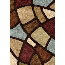 orian rugs oval day brown indoor novelty area rug common 7 x 10