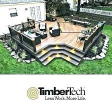 Backyard Deck Designs Plans Impressive Ideas