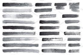 free watercolor brushes illustrator vector watercolor brush strokes brushes creative market