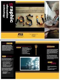 Asu Graphic Design Git Brochure By Kyle Myers At Coroflot Com