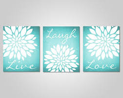 turquoise wall art