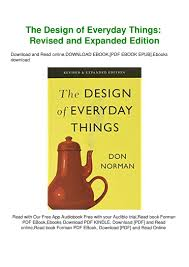 Norman Potter What Is A Designer Pdf Pdf Download The Design Of Everyday Things Revised And