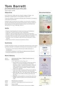 Apprentice Resume Samples Visualcv Resume Samples Database