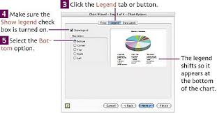 Excel Set Chart Size Set Chart Options Creating Spreadsheets And Charts In
