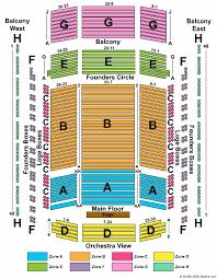 Schermerhorn Symphony Center Seating Chart Nashville