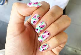 27+ Easy Summer Nail Art Designs, Ideas   Design Trends - Premium ...