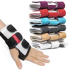 Zhezhera Suede Tiger Gymnastics Wrist Supports Paws Wraps Variety Of Colors For Girls Kids And Child Professionals Gymnasts And Cheerleaders