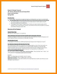 Research Proposal Template Interesting Research Design Proposal Template Research Design Examples For