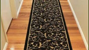 hall runner rugs awesome impressive brown rug with great target pertaining to 8
