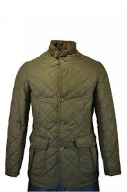 Barbour Quilted Lutz Jacket - Clothing from Michael Stewart ... & Barbour Quilted Lutz Jacket Adamdwight.com