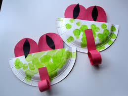 tree frog template easy paper plate tree frogs no time for flash cards