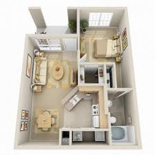 apartments inside bathroom. 3d large modern one bedroom apartment using queen sized bed and nighstands also inside bathroom apartments