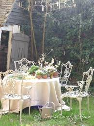 french country garden decor french country outdoor decor spring flowers on table in the garden french