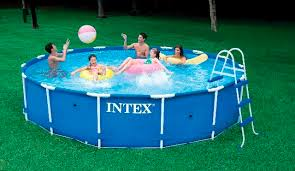 intex above ground swimming pool. Above-ground Swimming Pool / Polyester Tubular Outdoor - 28231 Intex Above Ground E